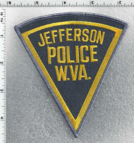 Jefferson Police (West Virginia) 1st Issue Shoulder Patch