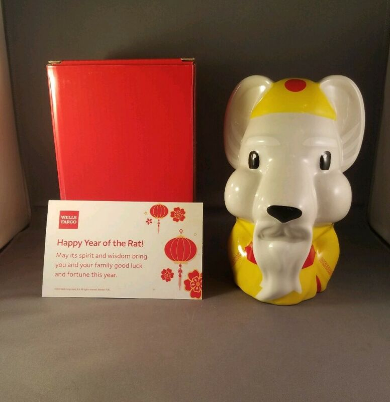 2020 wells fargo chinese new year of the rat bank