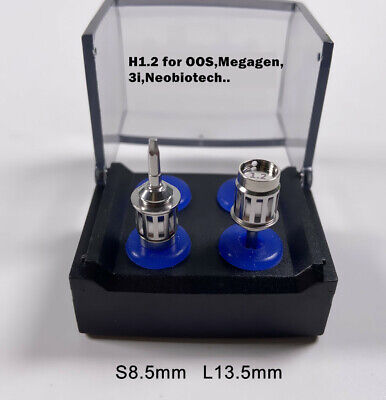 Dental Oos Implant Torque Wrench Ratchet Screwdriver Megagen 3i H1.2 Sl 2pcs