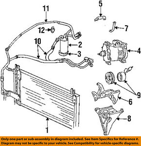 dodge air conditioning diagram 2010 dodge caravan air conditioning diagram dodge chrysler 98 01 ram 1500 air conditioner condenser ... #1