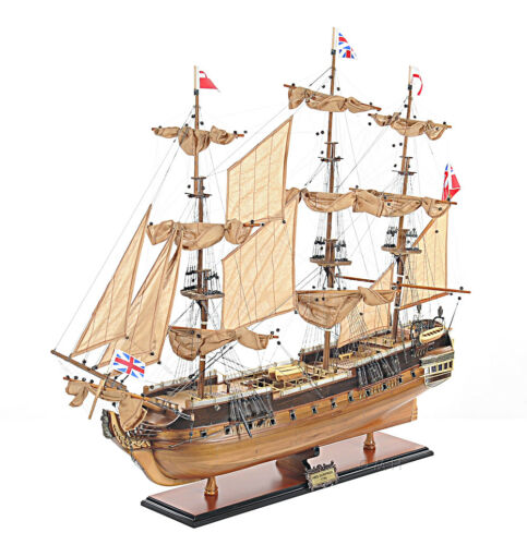 "HMS Surprise Tall Ship Model 37"" Royal Navy Corvette Seen Master and Commander"