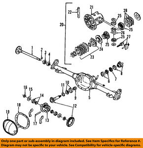 GM OEM 22510042 Bearing, Pinion, Rear Axle/Differential Pinion Bearing