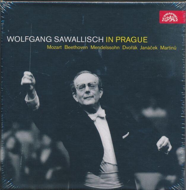Wolfgang Sawallisch In Prague CD NEW Czech Philharmonic Mozart Beethoven