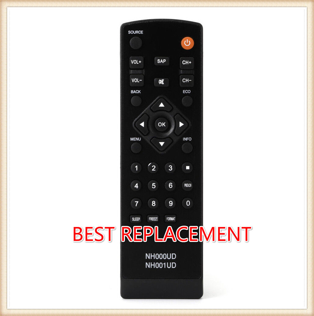 New Remote Control NH000UD NH001UD Replacement for Emerson S
