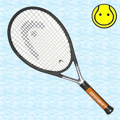 New Head Ti S6 4 1 4 Grip   Strung With Vibration Dampener Tennis Racquet