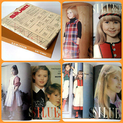 1983-90 USSR LEGENDARY Estonian TALLINN FASHION Set of 8 Magazines KIDS SILUET