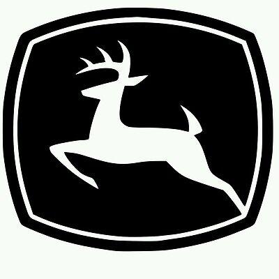 John Deere Vinyl Decal yeti Farming Tractor Sticker (choose color) buy2get1free