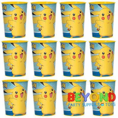 Pokemon Pikachu High Quality Reusable Birthday Party Plastic Cups](Plastic Reusable Cups)
