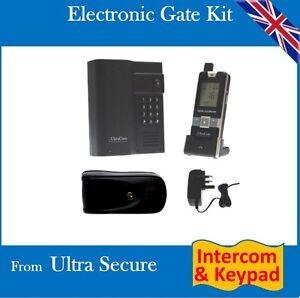 12v electronic gate gate lock long range wireless intercom with digital keypad ebay. Black Bedroom Furniture Sets. Home Design Ideas
