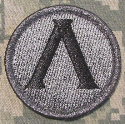LAMBDA SPARTAN SHIELD USA ARMY MORALE ACU DARK VELCRO® BRAND FASTENER PATCH