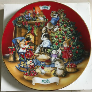 Avon Fine Collectable Plate - Christmas 1993