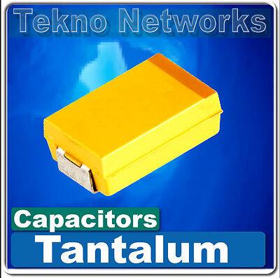 Smd Smt Tantalum Capacitors Case A B C D 5pcs Or 10pcs