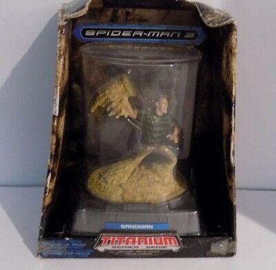 Hasbro Marvel Heroes Titanium Series Sandman Figurine