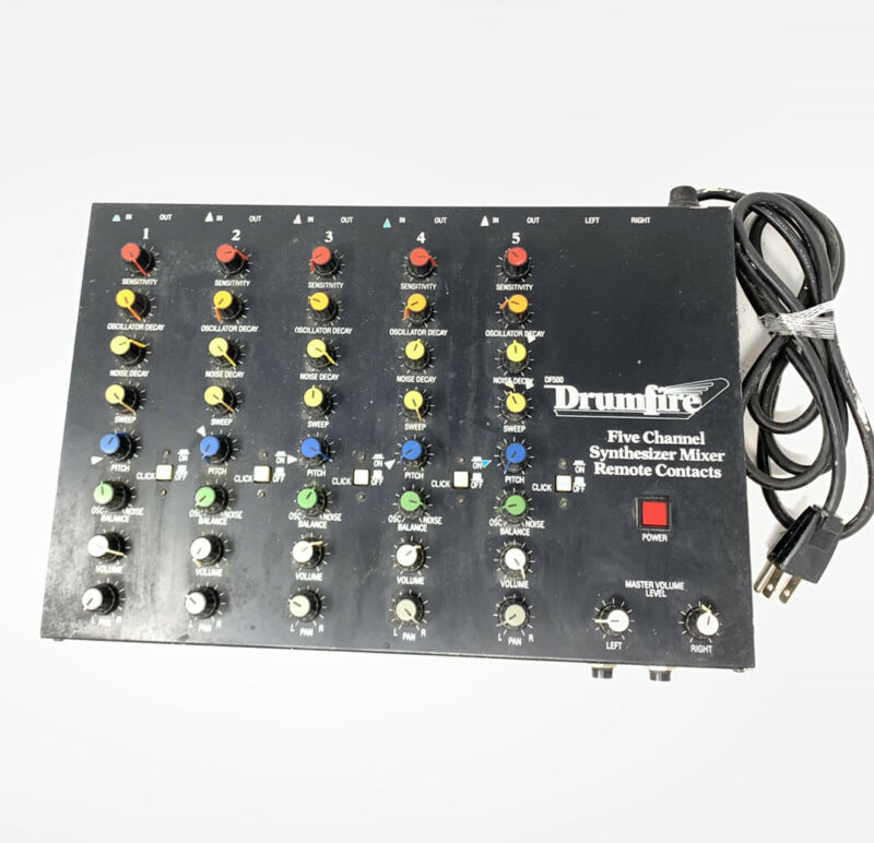 Vintage DrumFire DF500 Five Channel Synthesizer Mixer