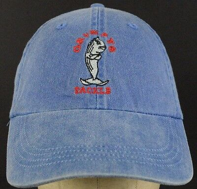Grumpys Tackle New Jersey Fishing Store Report Blue Baseball Hat Cap Adjustable (Adult Stores Nj)