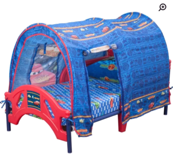 Wanted: Pixar cars canopy toddler bed