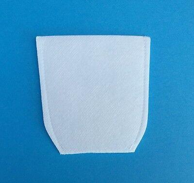 Makita 443060-3  Cloth Vacuum Filters x1 for BCL180 140 4071D CL070D CL100D