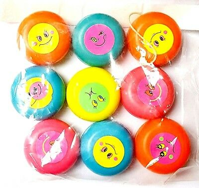 A 20pc YO YOs Boys & Girls Birthday Party Loot Bag Fillers Cheap Toys Kids (Cheap Yoyos)