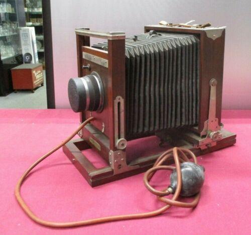 Antique Gundlach Korona Camera Body w/Bausch&Lomb Lens