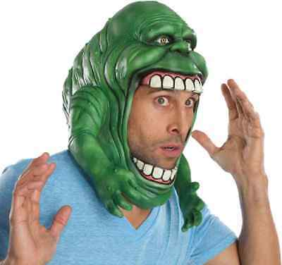 Slimer Headpiece Mask Ghostbusters Ghost Fancy Dress Halloween Costume Accessory - Ghostbusters Slimer Mask