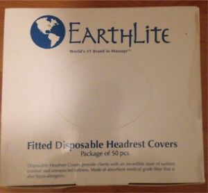 Disposable  Face Rest covers for massage table or chair.
