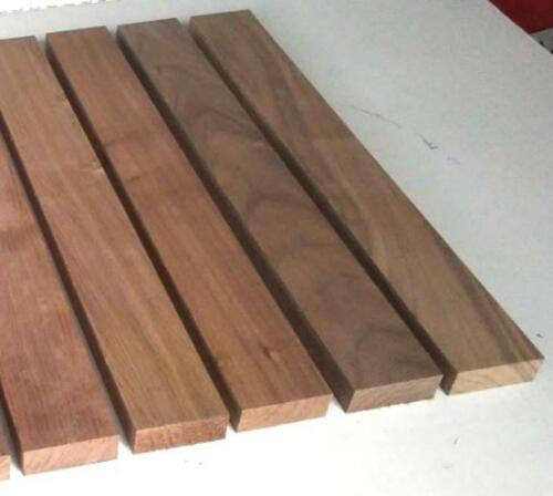 "3/4""x2""x16""  8 BLACK WALNUT 8 Cherry Wood Cutting Lumber Boards FREE SHIP"