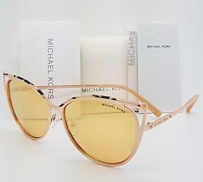 New Michael Kors sunglasses MK1020 11657J 56mm Pink Tortoise Rose Gold AUTHENTIC