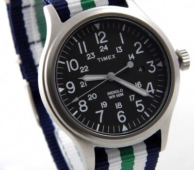 TIMEX UHR EXPEDITION SCOUT BROOK ABT010 Edelstahl Indiglo Beleuchtung > > > NEU (Indiglo Uhr)