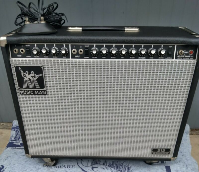 Music Man 212-75 RP Combo Amplifier in Excellent Condition