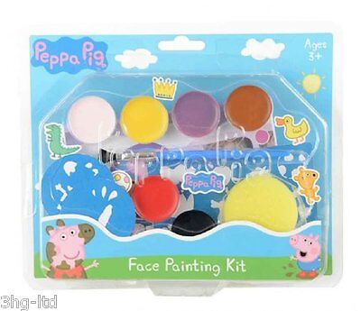 Peppa Pig Childrens Face Painting Kit Kids Party Bag Filler Make Up 3+ - Peppa Pig Painting