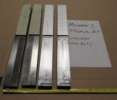4 Pcs Way Cover Brackets From Kitamura Mycenter 2 Cnc Milling Vmc Free Shipping
