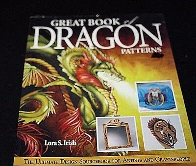 Dragon Pattern Book 181 Pages Castle Times Fantasy Drawing Clipart  -DDX=