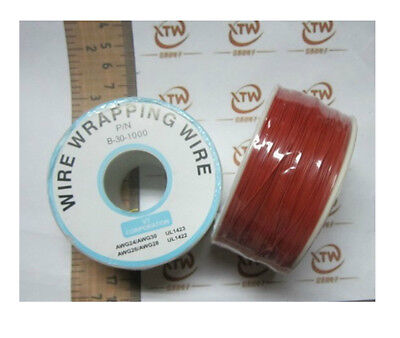 0.25mm Wire-Wrapping Wire 30AWG Cable 250m Red