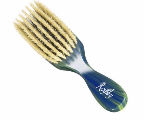 Royalty # 702 Soft Wave Brush King 360 Waves Flat Boar Men H