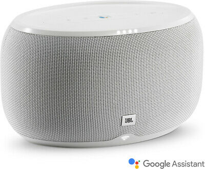 JBL Link 300 Wireless Voice Activated Google Assist WiFi Speaker White
