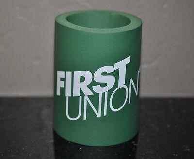 First Union Bank Roanoke, Va. Cup Koozie
