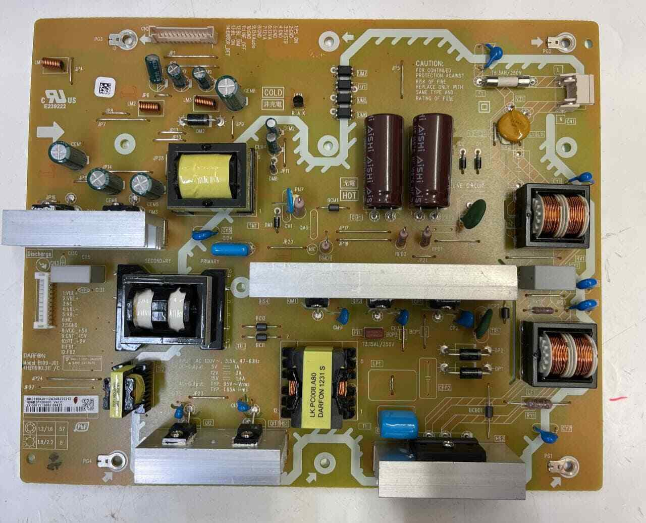 N0AB3FK00001 B109-J01 4H.B1090.311/C Supply Board SANYO DP50842 FVM5082 DP50843 - $29.00
