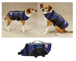 DOG LIFE JACKET - Aquatic Pet Preserver Water Safety Vests for Dogs - Swim Vest