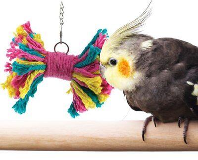 Bonka Bird Toys 1578 Small Rainbow Tie bird toy conure parakeet budgie cockatiel
