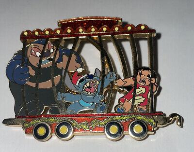 Disney Pin Stitch Christmas Train 2007 Le 100 Holiday Lilo Jumbaa