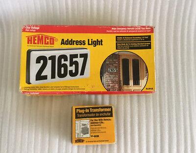 Hemco Adress Light Low Voltage Hemco Plug-in Transformer