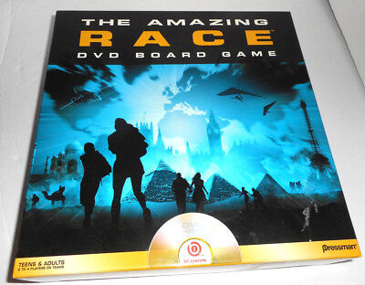 The Amazing Race Dvd Boardgame Pressman Toy Co DVD Board Game Complete