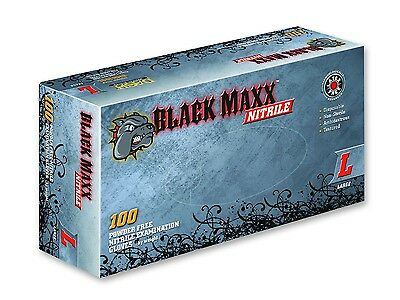 DASH Gloves - Black Maxx Nitrile Exam Gloves