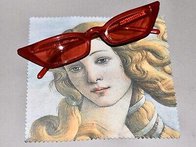 Poppy Lissiman Red Le Skinny Eyewear Sunglasses Frame Full Set Never Used NEW