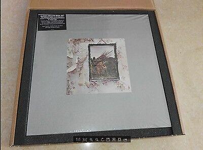 Led Zeppelin-IV SUPER DELUXE EDITION BOX SET 2CD+2LP 180GR RARE SEALED EU