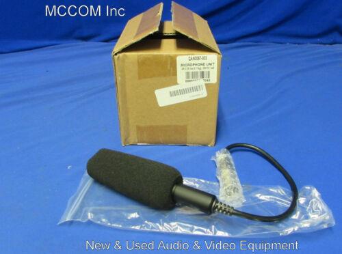 JVC QAN0067-003 3-Pin XLR  Microphone NEW for ProHD/4KCAM Camcorder