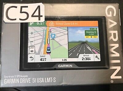Garmin Drive 51 LMT-S with US Maps and Friction Mount Bundle 010-01678-0C