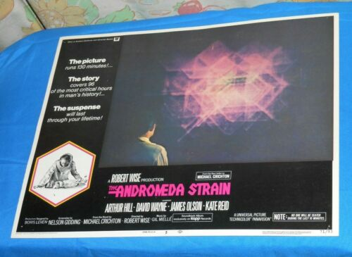 original THE ANDROMEDA STRAIN lobby card #5