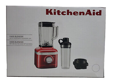 KitchenAid Variable Speed K400 Countertop Blender, 56 Oz, Passion Red