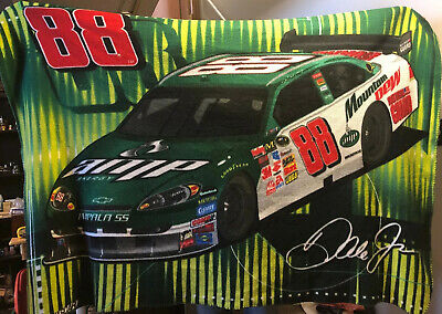 DALE JR. FLEECE BLANKET/ THROW: NASCAR #88 AMP Nascar Fleece Throw